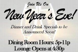 New Year's Eve at the Ivory Grille