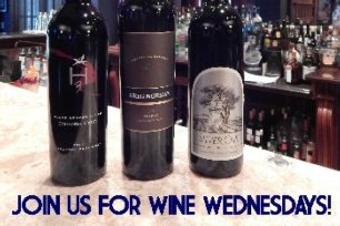 Wine Wednesdays at the Lounge!